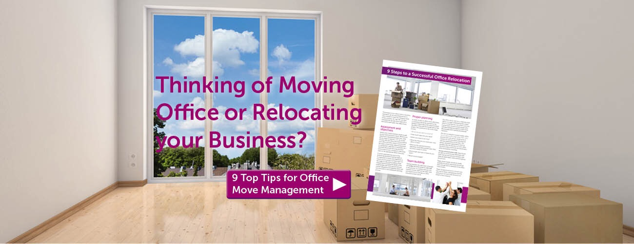 Project management of office move