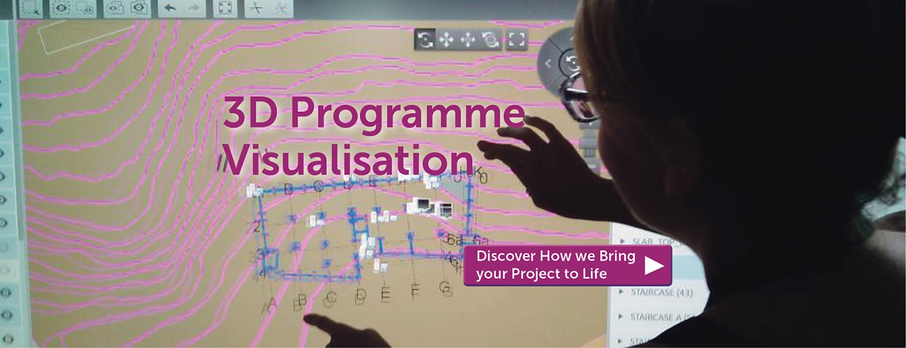 3d programme visualisation